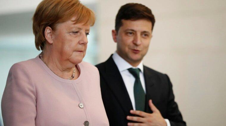 Зеленський зустрівся з Меркель: про що домовилися