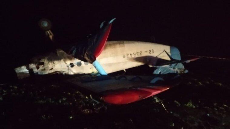 В Тернопольской области упал самолет: есть жертвы