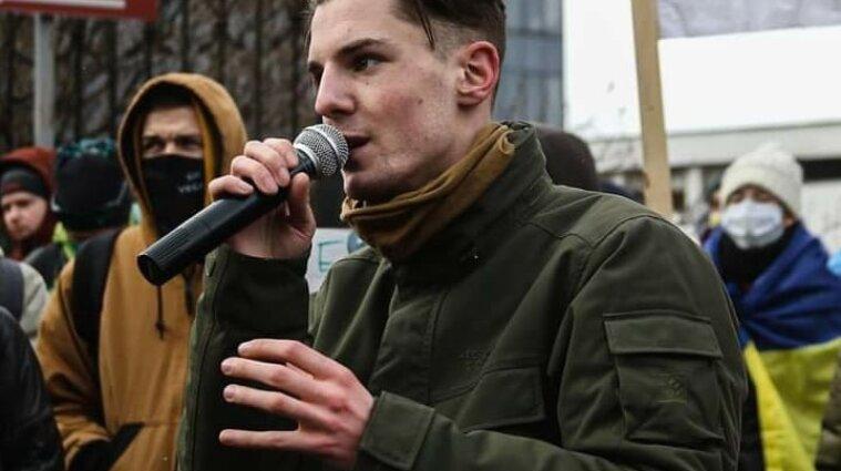 Еще один участник протеста на Банковой получил домашний арест