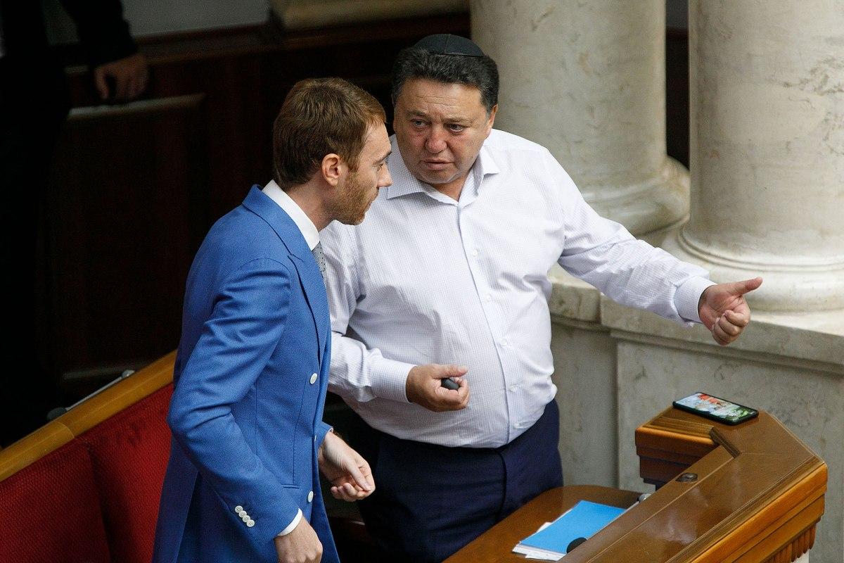Ігор Абрамович та Олександр Фельдман (фото: УНІАН)