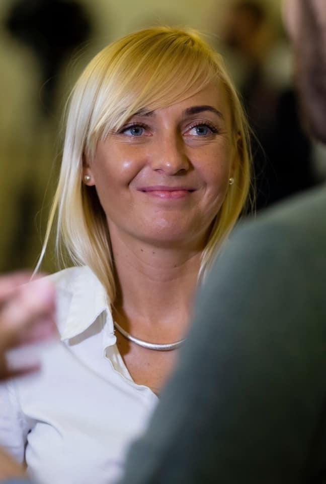 Александра Устинова (фото: фейсбук)