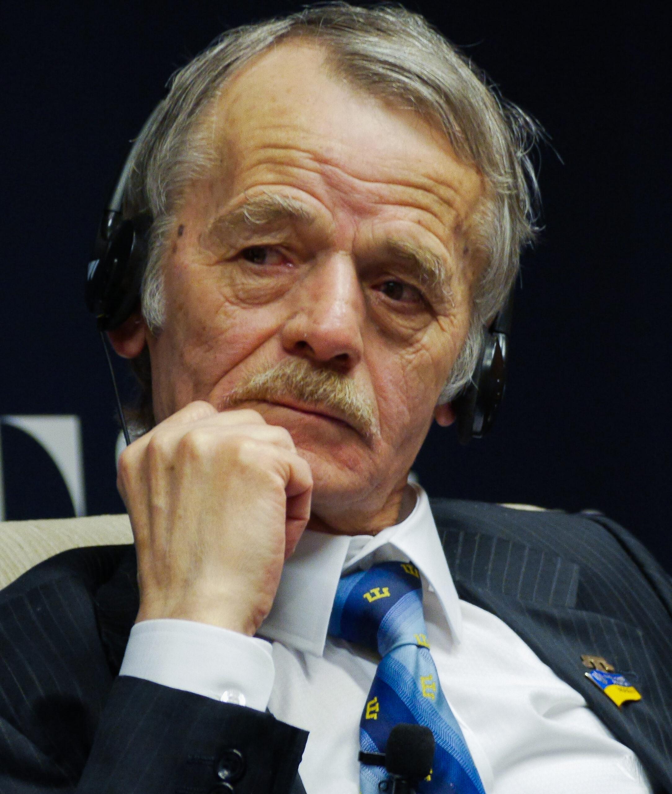 Джемілєв Мустафа (фото: Вікіпедія)
