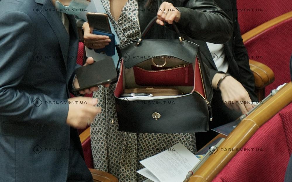 Зе-депутатка прийшла до Ради з сумкою за 2 тисячі доларів. Фото