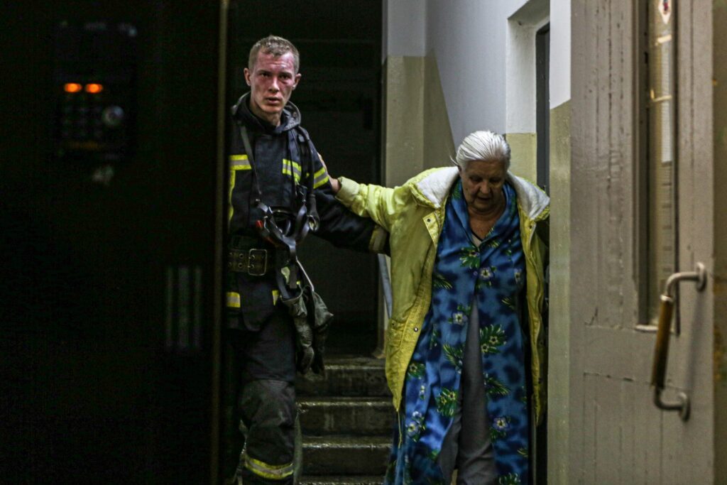 Евакуація під час пожежі
