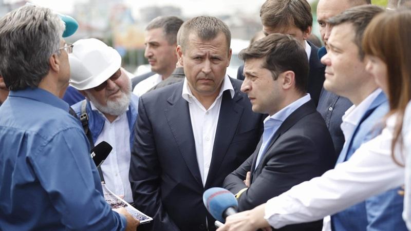 Борис Филатов и Владимир Зеленский