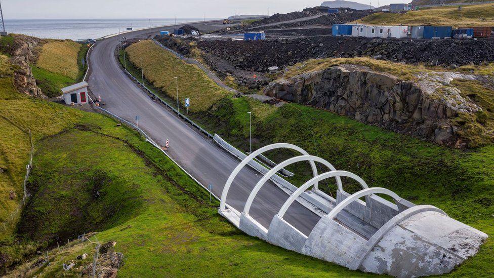 Підводний тунель на Фарерських островах