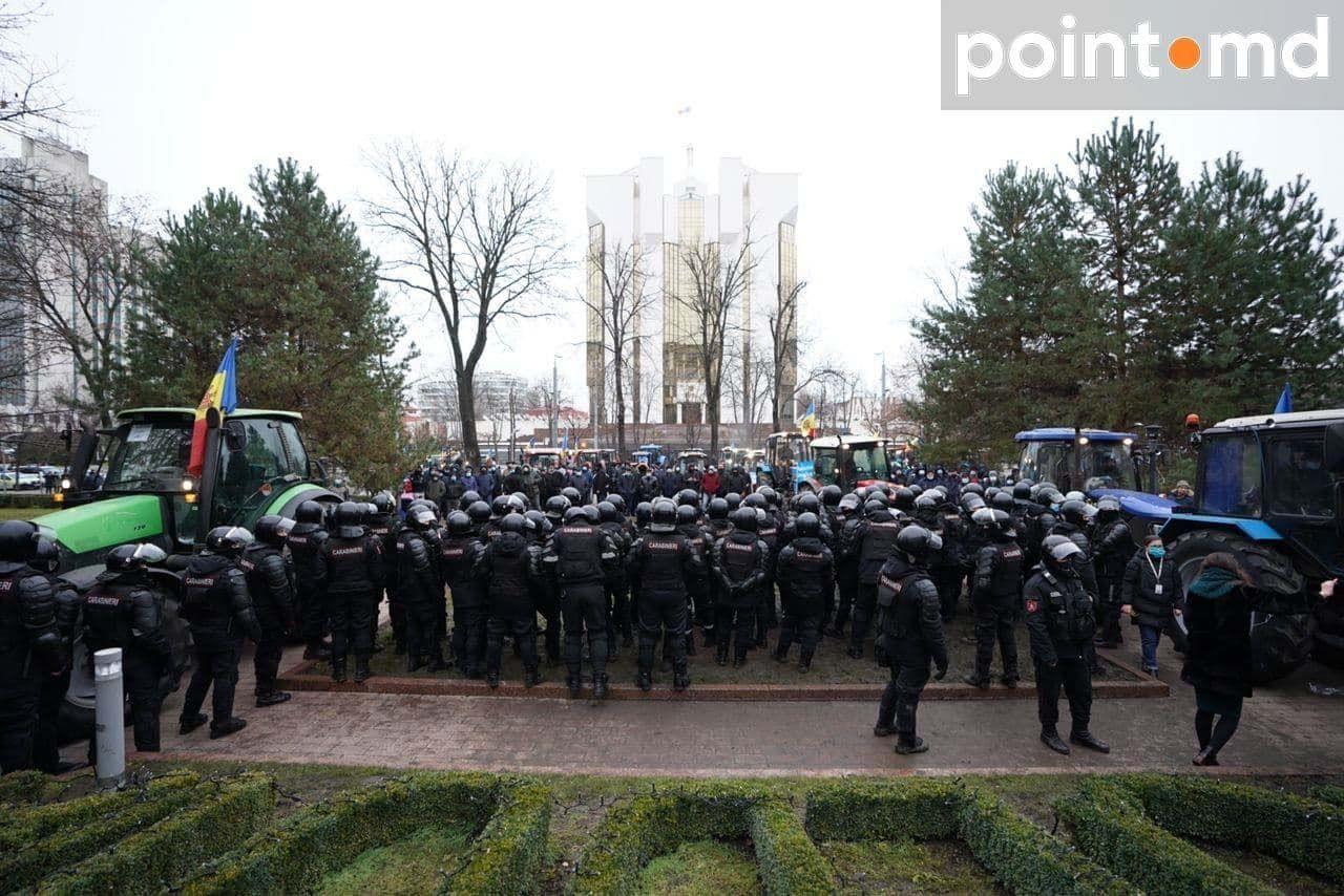 Протест фермерів у Молдові