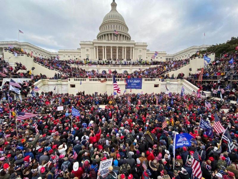 Протести у США під Конгресом