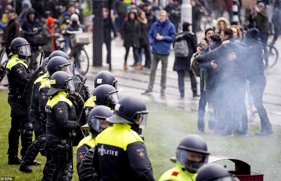 Протест в Нидерландах