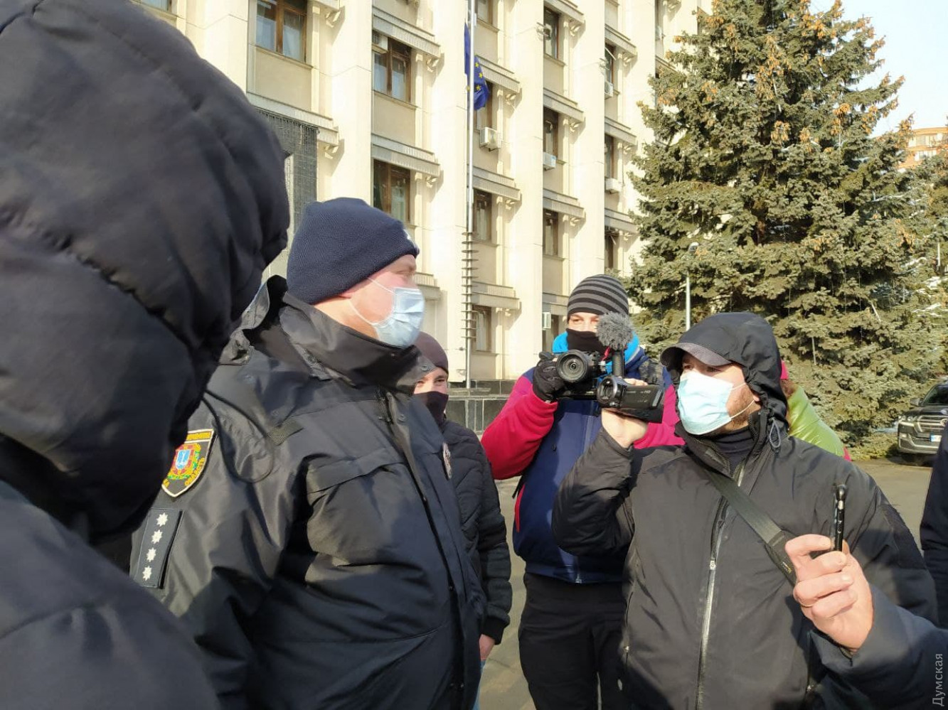 Протесты в Одессе