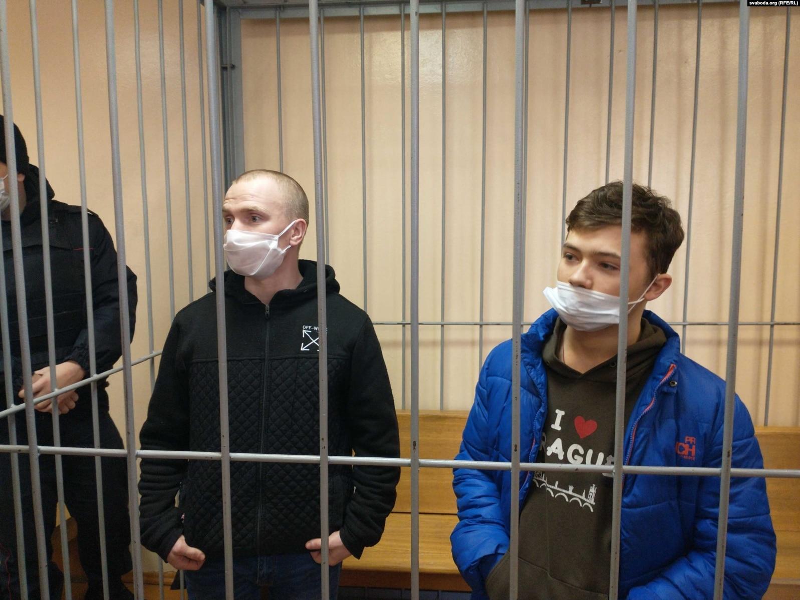 16-летний участник акций протеста в Беларуси