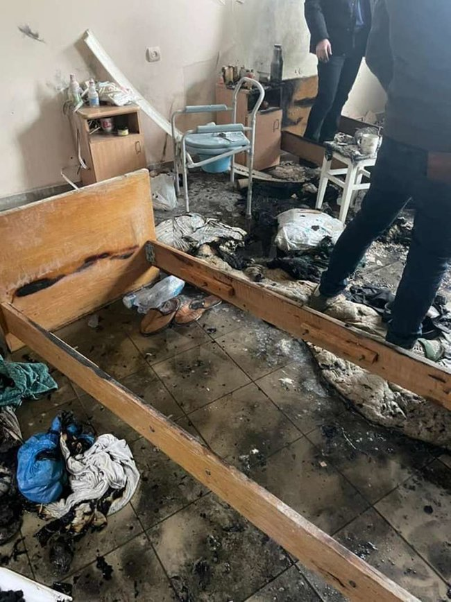 Пожежа в лікарні у Чернівцях