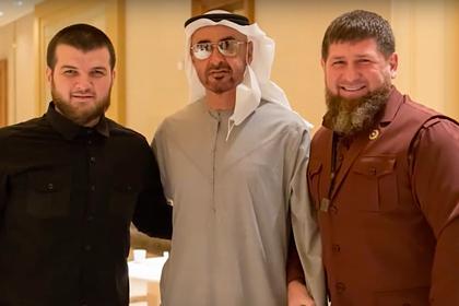 Кадиров з принцом ОАЕ в Абу-Дабі 17 лютого