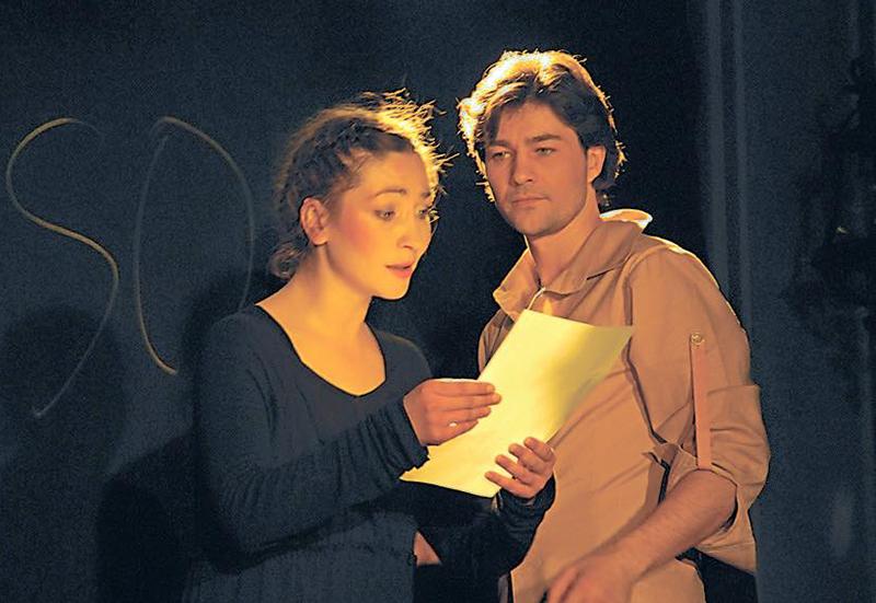 Євген Нищук з дружиною Оксаною Батько-Нищук