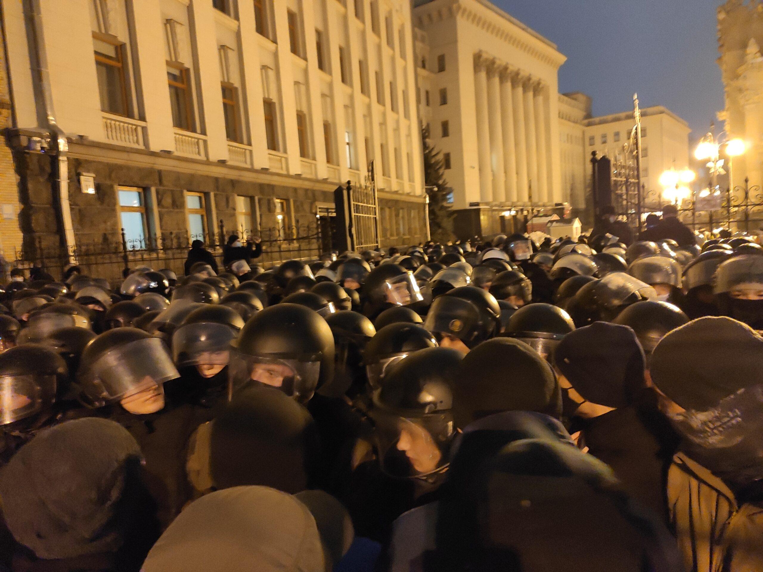 Акція протесту в підтримку Сергія Стерненка