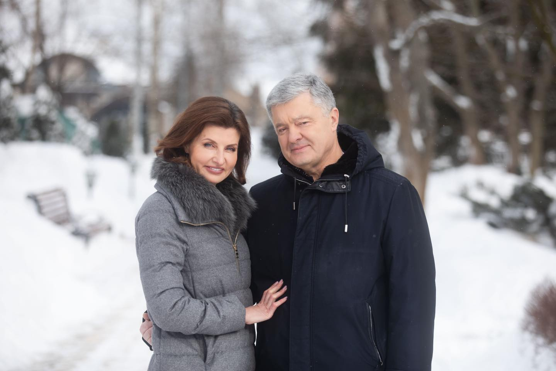 Петро і Марина Порошенко