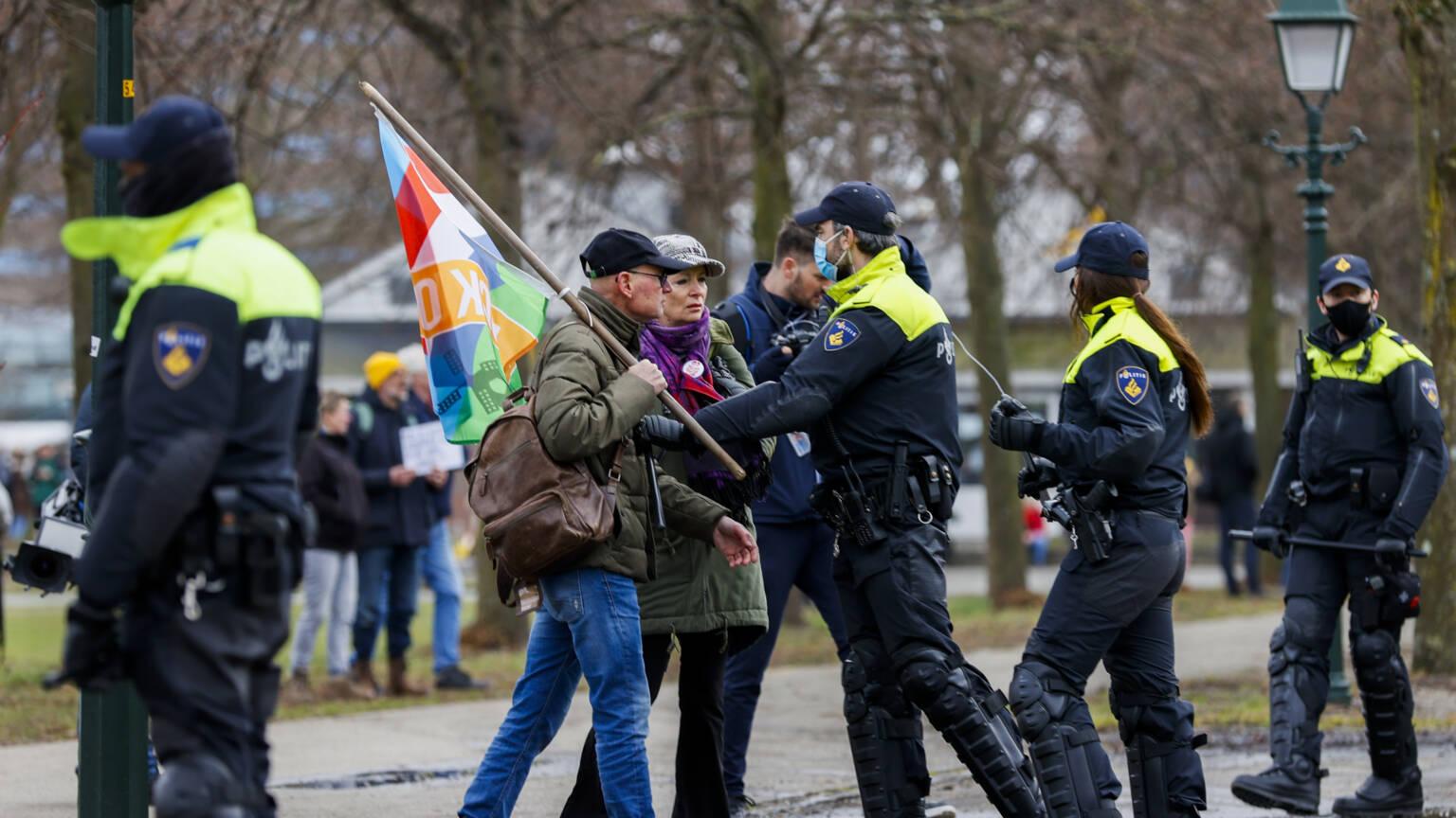 Протест в Гааге