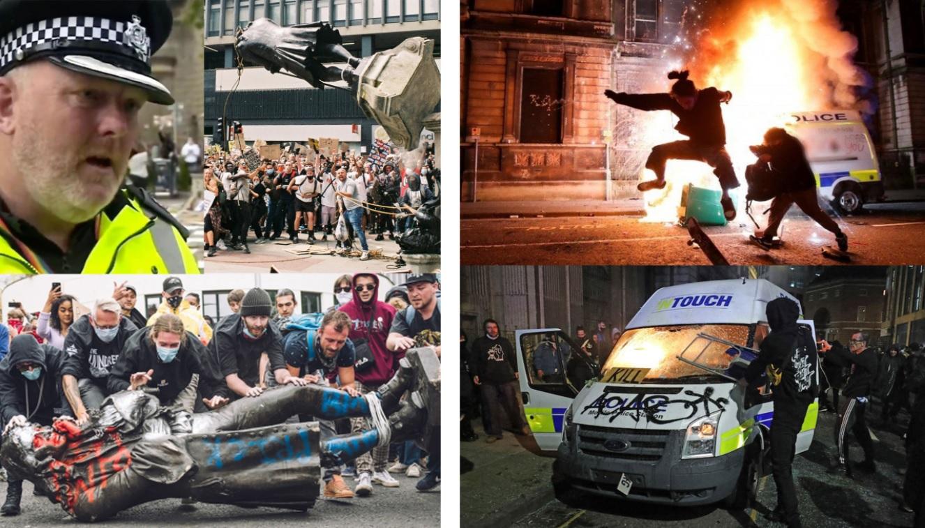 Протести у Бристолі