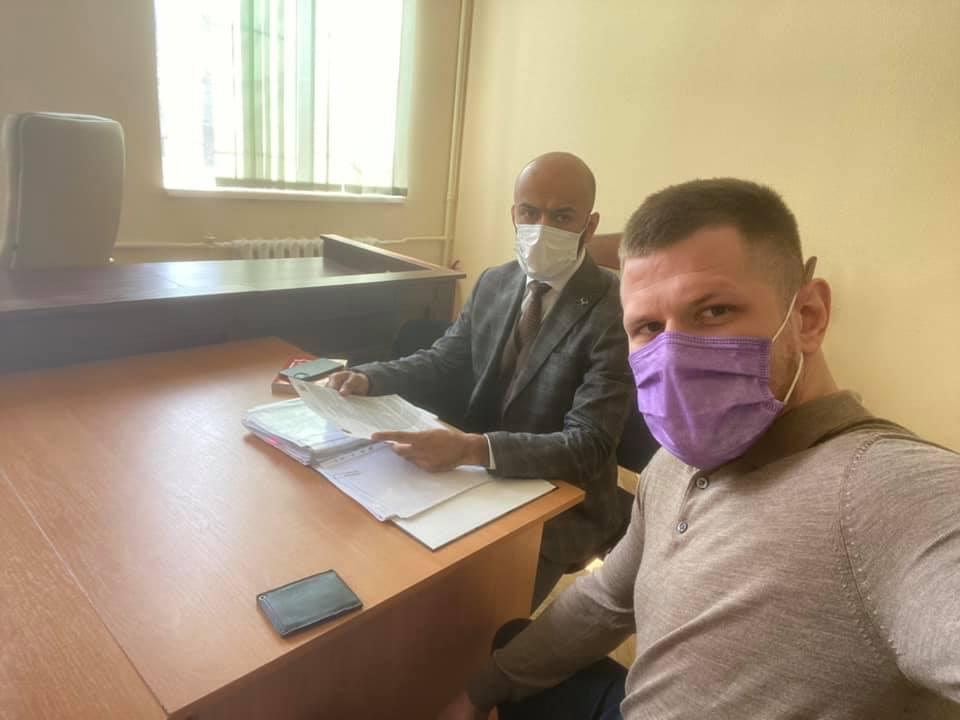 Сергій Філімонов та Масі Найєм