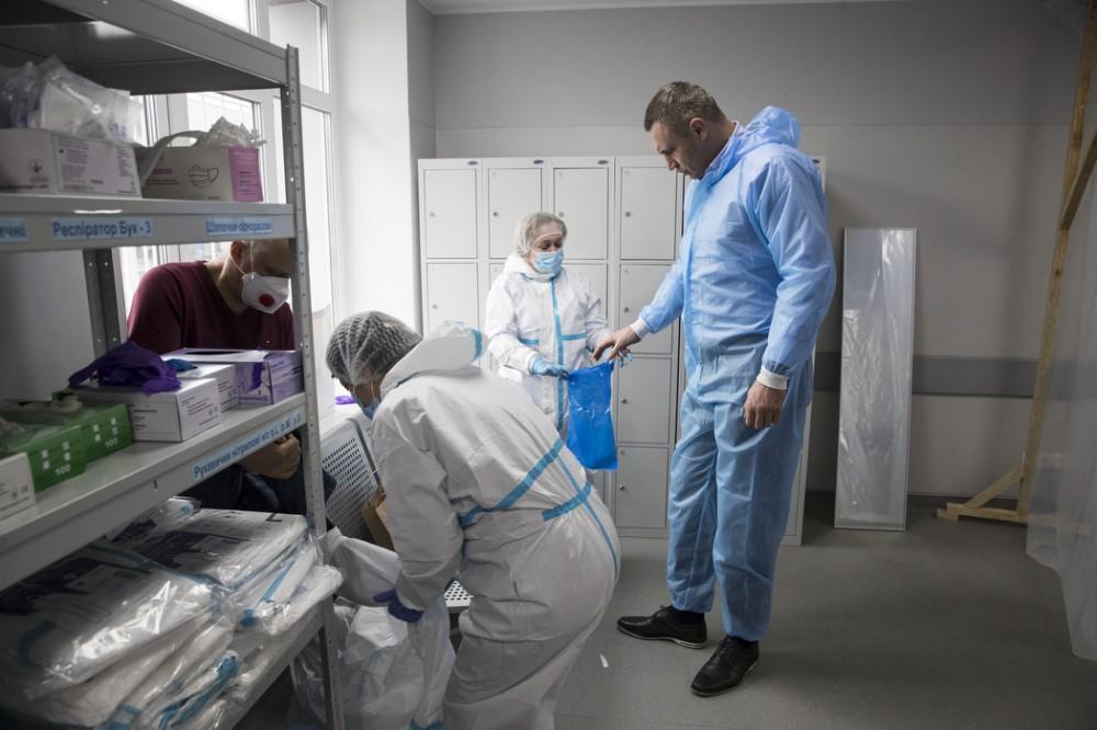 Кличко посетил больницу в Киеве