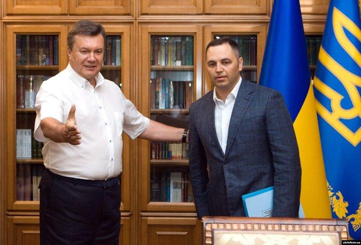 Віктор Янукович і Андрій Портнов, 2 серпня 2010 року