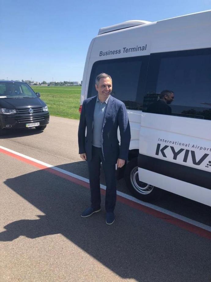 Андрій Портнов після повернення в Україну