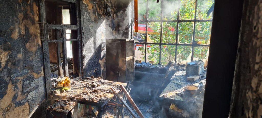 Пожежа у Харківській області