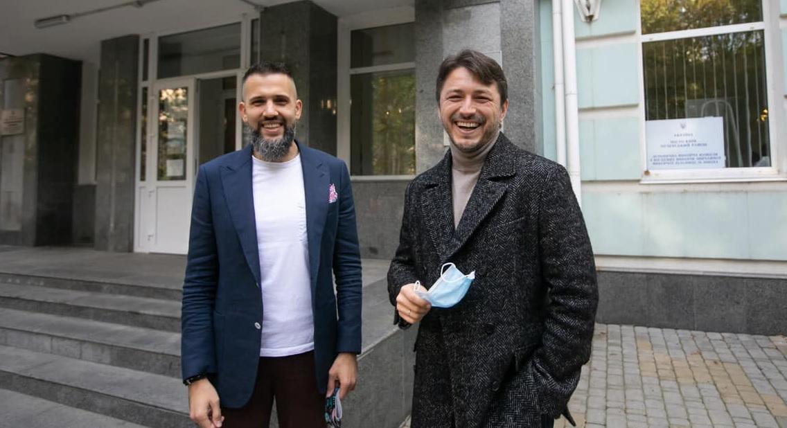 Максим Нефьодов та Сергій Притула