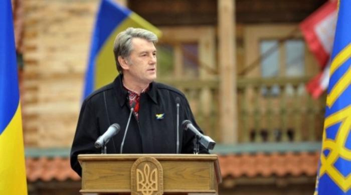 """Лідер партії """"Наша Україна"""" Віктор Ющенко"""