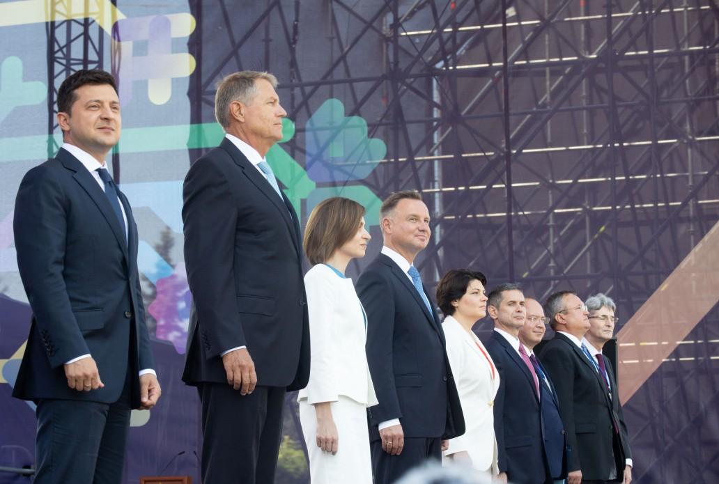 Візит Володимира Зеленського до Молдови