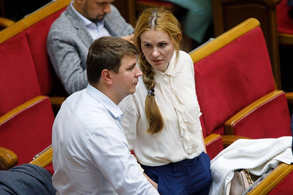 Анна Скороход і Антон Поляков